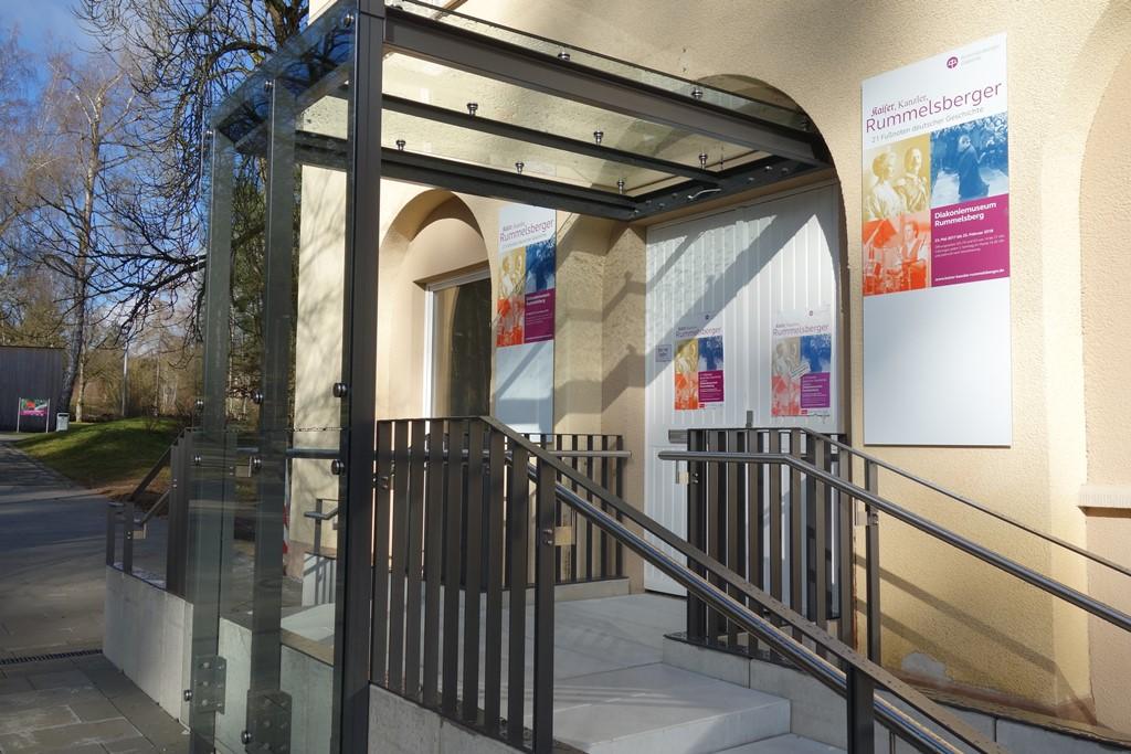 Eingang Diakoniemuseum Rummelsberg